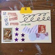 June 18 mail art