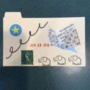 June 18, 2016 mini postcard