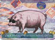 Blind Pig Collage postcard