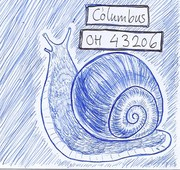 Out: Balpen snail mail snail