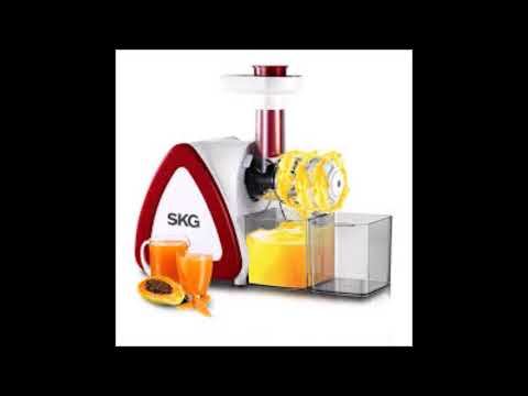 Best Masticating Juicer Extractor with Wide Chute