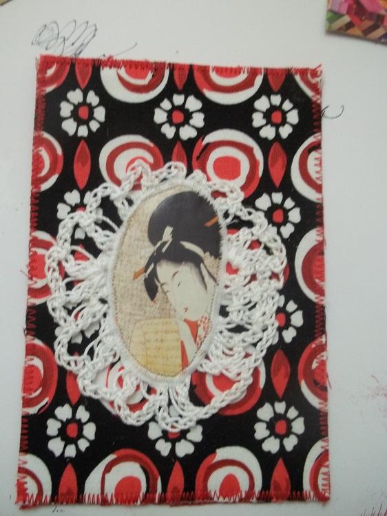 Fabric, Crochet Art To Bonniediva