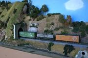 Layout Scenery Progress, Back Wall 2
