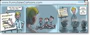 Funny Sales Cartoon on Sales Confidence