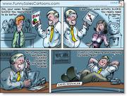 Funny Sales Coaching Cartoon