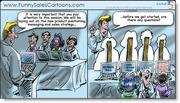 Funny Sales Cartoon on Sales Training