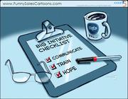 Funny Sales Cartoon on Big Initiatives