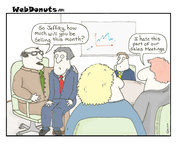 Funny Sales Meeting Cartoon