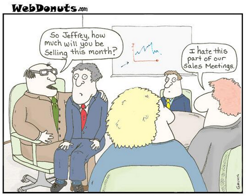 Funny Sales Meeting - Forecasting - Pipeline