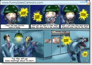 Funny Sales Cartoon on New Recruits