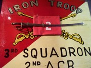 Iron Troop 3-2ACR sign