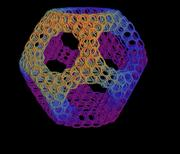 150vert_TruncatedDodecahedron_menger_cubeLevel2scale6Rainbow