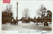 Manor Gate, Finsbury Park, Manor House Crossroad, c1910