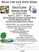 Relay for Life Auto Show & Spring Fling -Ellijay GA