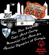 The Blue Knights, Capt. Herb Emory Memorial Car Show for Special Olympics of GA -Kennesaw, GA