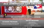All American Car Cruise in Orlando, FL.
