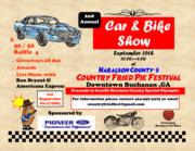 Fried Pie Fest Car and Bike Show