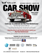 One Year Anniversary Car Show at the Museum -Tacoa, GA