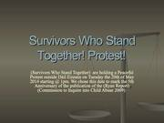 Protest The Statutory Trust Fund Commemorating the 5th Anniversary of the Ryan Report
