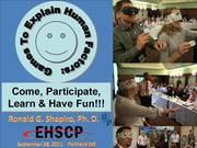EHSICC Portland Maine 2011 Games To Explain Human Factors Photo Album