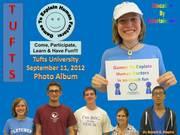 Tufts University 2012 Games To Explain Human Factors Photo Album