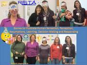 Rhode Island Science Teachers Association (RISTA) 2012 Games to Illustrate Human Sensation, Perception, Assumptions, Learning, Decision Making and Responding Photo Album 2012-03-10