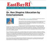 EastBayRI -- Dr. Ron Shapiro -- Education By Entertainment 2017-07-26