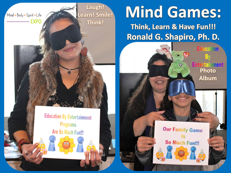 Mind Games: Think, Learn & Have Fun!!! Mind Body Spirit Life Expo, Warwick, Rhode Island, November 26, 2017, Photo Album.