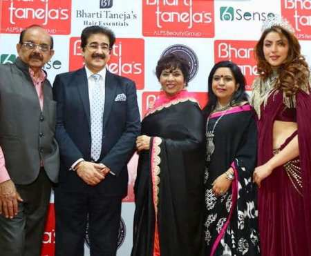 Sandeep Marwah Invited at International Beauty And Spa Expo