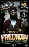 FREEWAY PERFORMING WITH RAGENI OF PROTECT YA NECK MAY 9TH CT