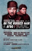 R.A. The Rugged Man & AFRO @ Ninja Karaoke - LAs Vegas, NV