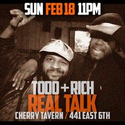 Real Talk w/ Todd & Rich President's Day TAKEOVER (Sun. Feb. 18th)