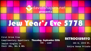 Jew Years Eve 5778 hosted by davidshapiro.net