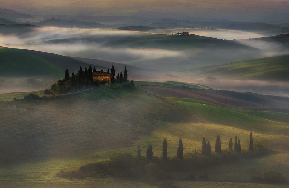 La Toscana. Italia
