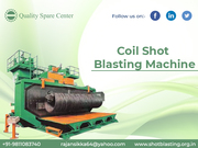 coli shot blasting machine