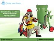 sandblasting machine manufaturers in faridabad,india
