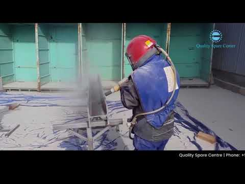 How To used  Sand Blasting Machine  Quality Spare Centre