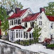 Izzy's ex-house, Doylestown PA USA