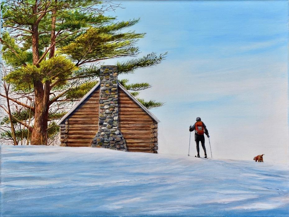 Cross Country Cabin, Sugar Hill, NH