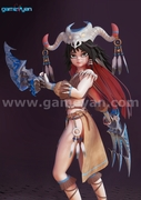 Nia – Beautiful 3D Character Animation Model By GameYan Animation Movie Production Companies