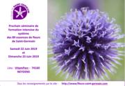 séminaire de formation intensive des essences de fleurs de saint-Germain