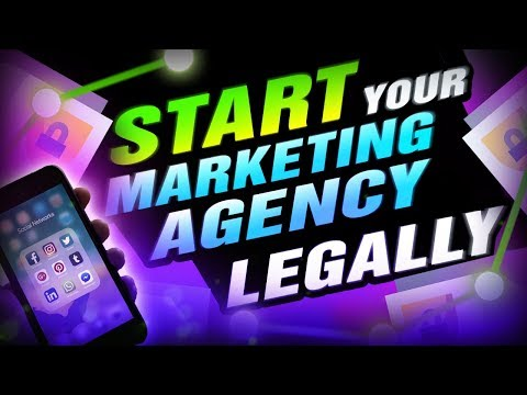 How To Set Up A Marketing Agency Legally