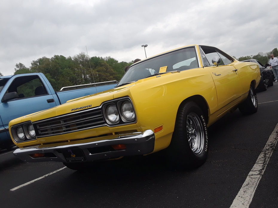 Pottstown Classic Car Cruise May 2019 1969 Plymouth Road Runner