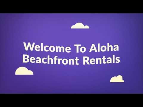 Aloha Beachfront Vacation Rentals in Oahu, HI