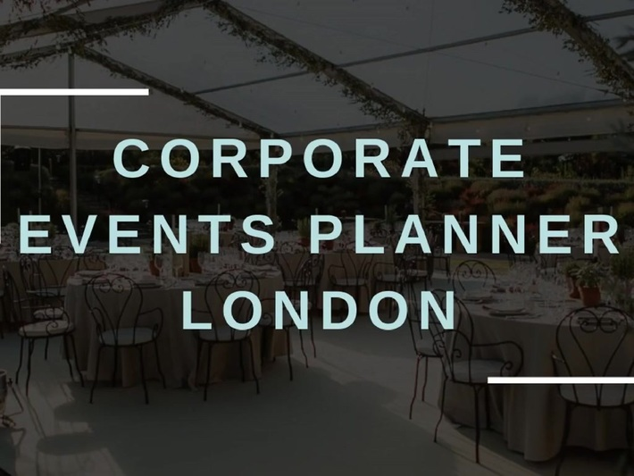 Corporate Events Planner London