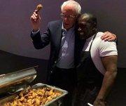 Bernie Sanders Fried Chicken