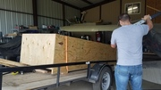 Unloading the Crate