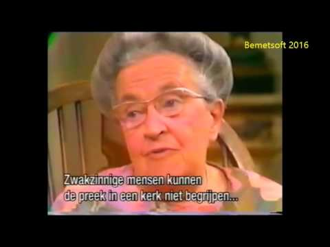 Corrie ten Boom with Kathryn Kuhlman