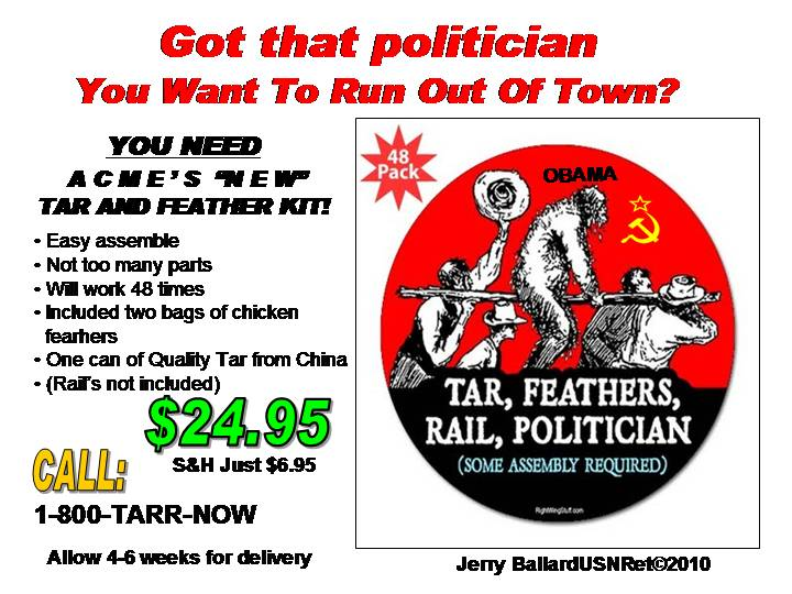 TAR AND FEATHER