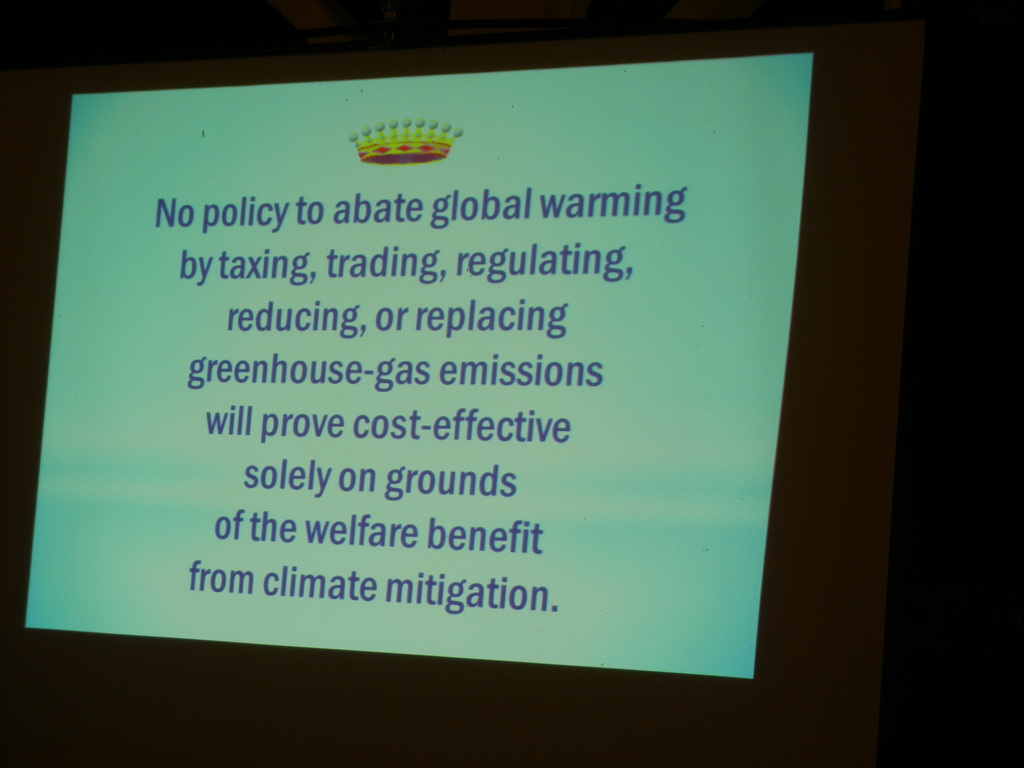 Bottom Line on Global Warming Strategy
